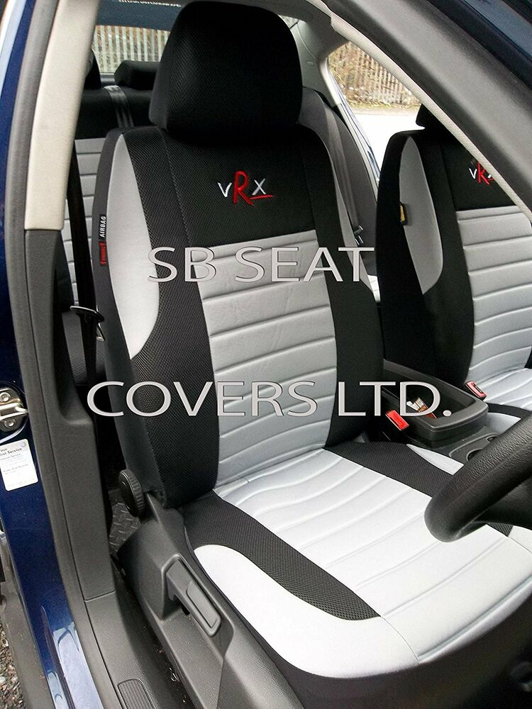 I To Fit A Citroen C4 Cactus Car Seat Covers Grey Vrx