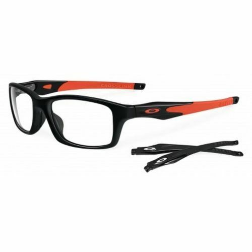 OAKLEY Eyeglasses CROSSLINK OX8030-0755 Black&Orange w ...