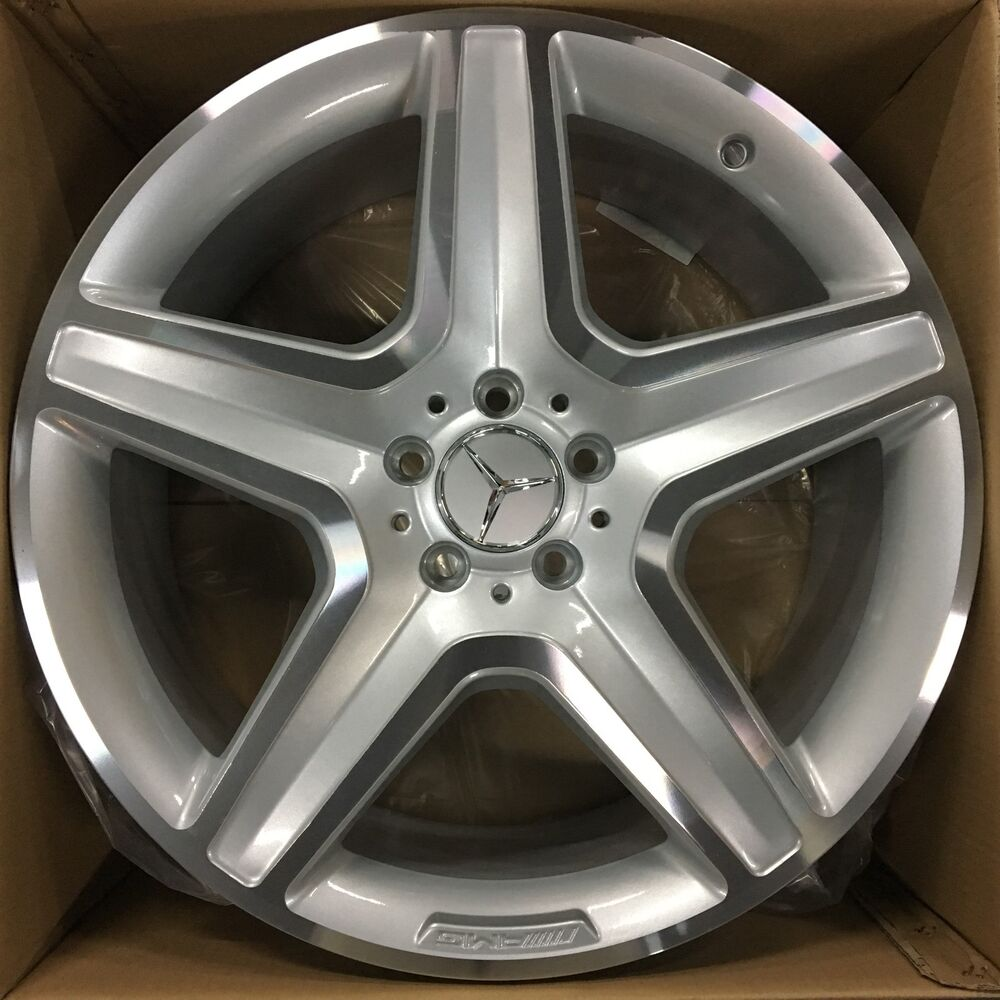 New 20 oem mercedes benz 2017 ml550 ml glc300 amg wheels for Mercedes benz factory rims