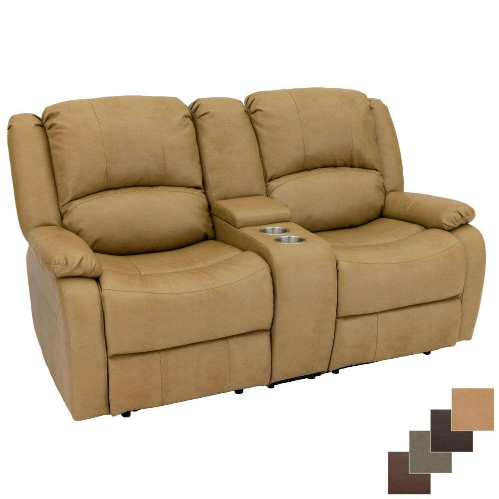 "RecPro Charles 67"" Double RV Zero Wall Hugger Recliner"
