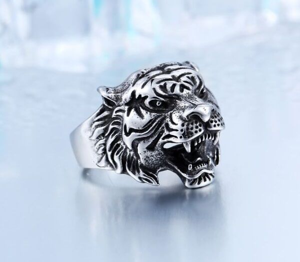bengal to prime perfection products ring silver rings tiger