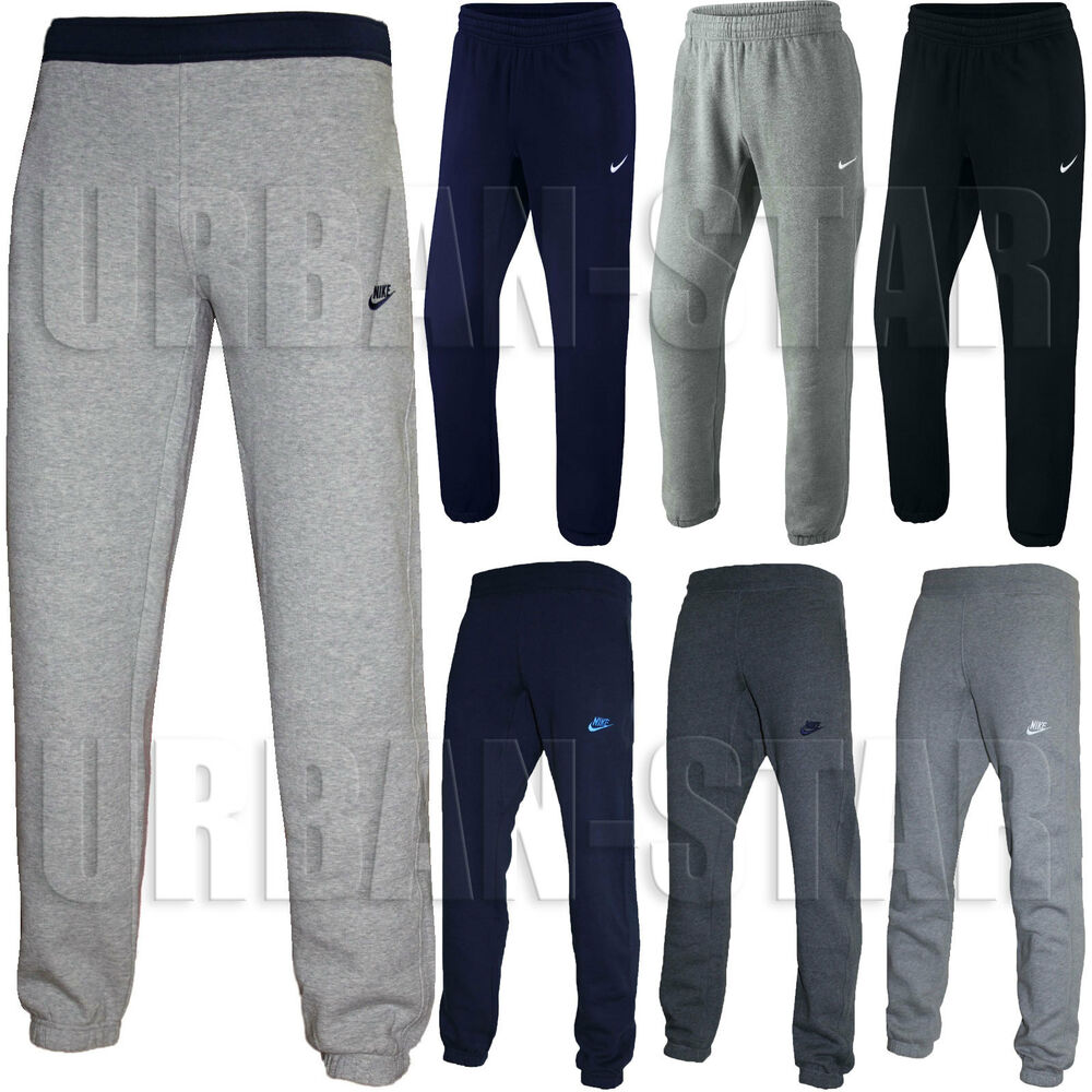 8920b55d73ae Details about New Mens Nike Fleece Joggers
