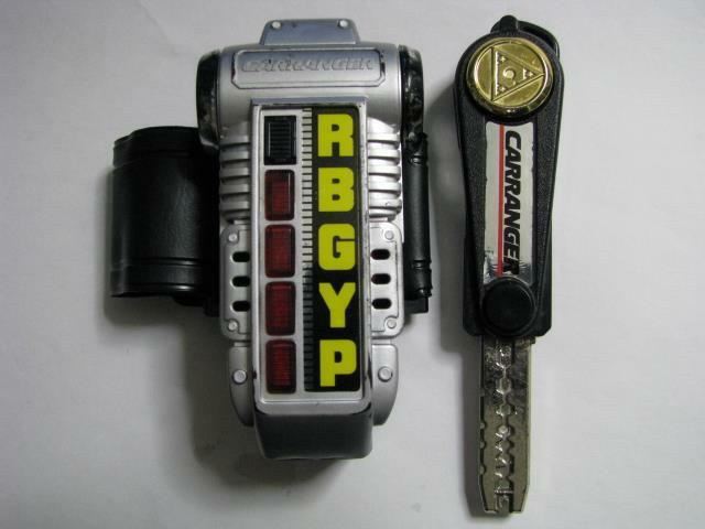 carranger accel changer power rangers turbo morpher japan import ebay. Black Bedroom Furniture Sets. Home Design Ideas