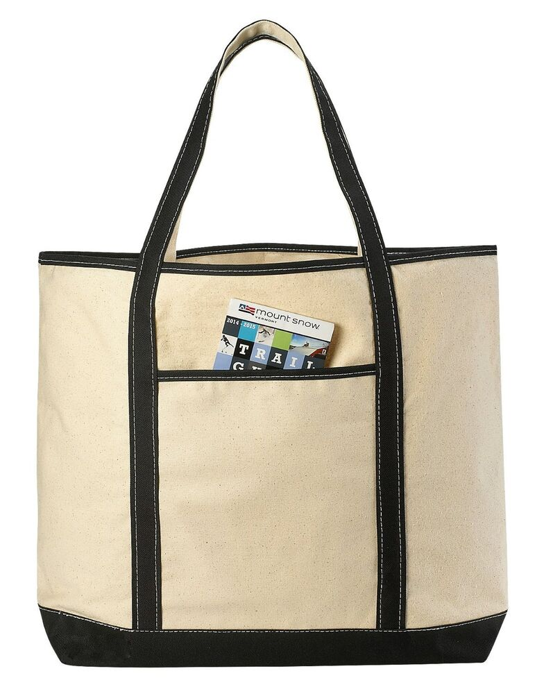 Large Tote Bags With Zipper For Travel