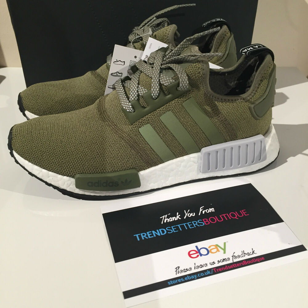 ADIDAS NMD US UK 6 7 7.5 8 9 10 11 CARGO OLIVE KHAKI FOOTLOCKER ...