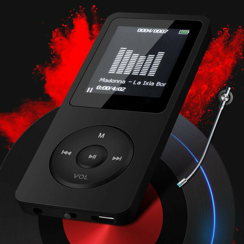 new mp3 music player 8gb 1 8 screen fm voice recorder 50 hours playback ebay. Black Bedroom Furniture Sets. Home Design Ideas