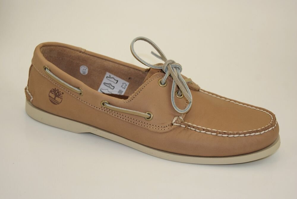 timberland 2 eye boat shoes segelschuhe bootsschuhe herren deckschuhe mokassins ebay. Black Bedroom Furniture Sets. Home Design Ideas