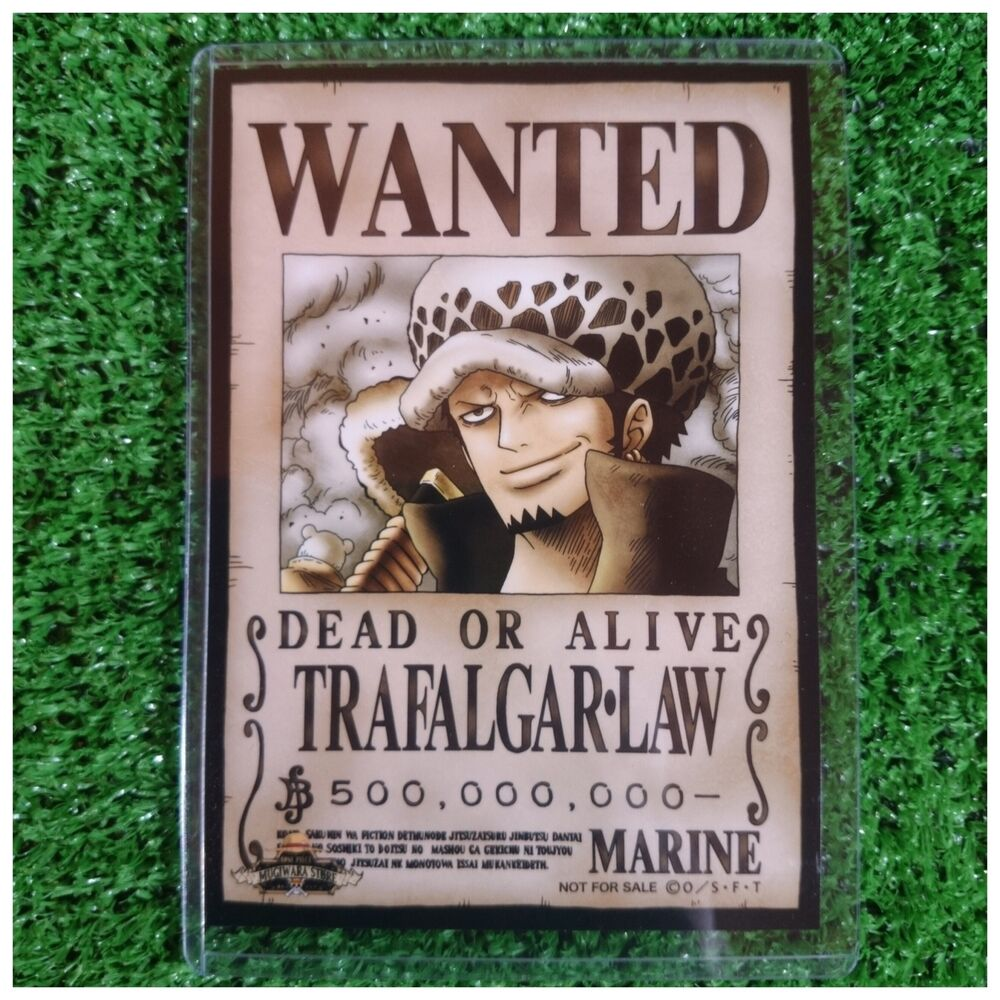 NEW!! Mugiwara Store Limited One Piece Wanted Poster