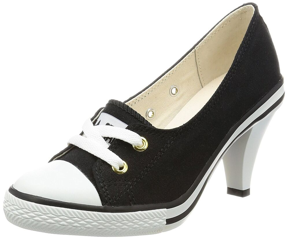 converse all high heel casual sneakers