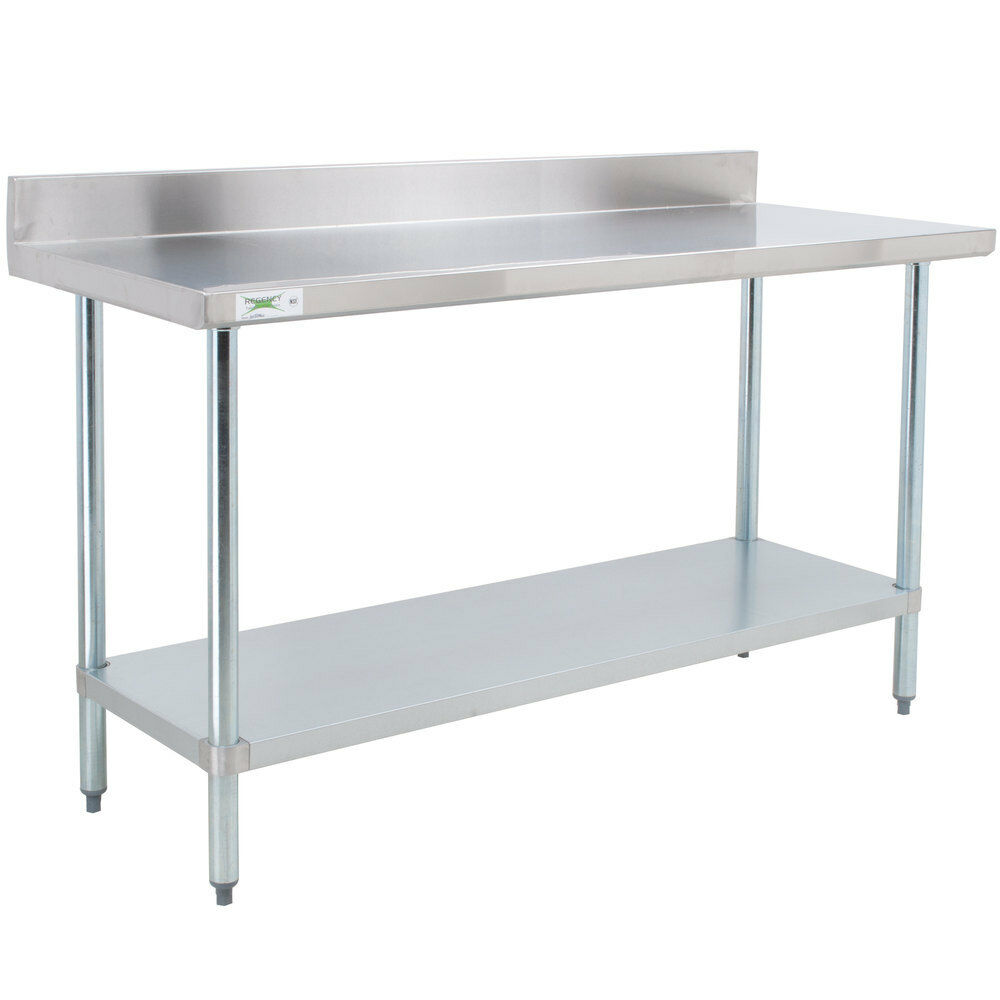 New Regency Commercial Stainless Steel Food Prep Table