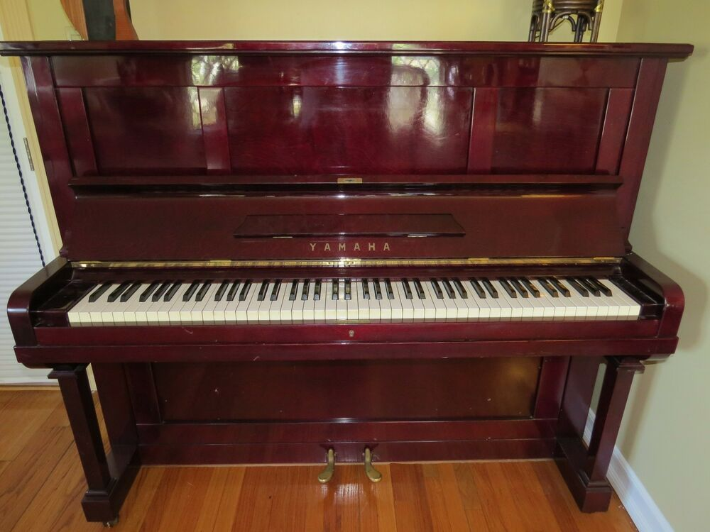 Yamaha u2 upright piano for sale made in japan ebay for Yamaha piano upright