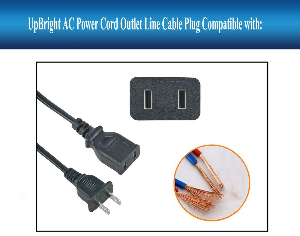 ac in power cord charging cable charger plug lead for jump. Black Bedroom Furniture Sets. Home Design Ideas