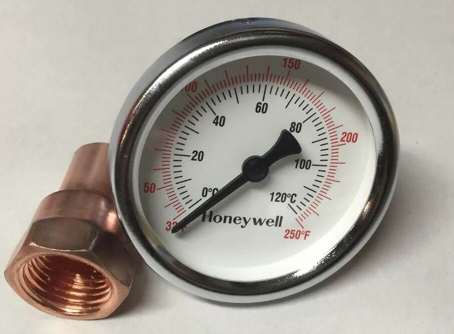 Thermometer Amp Copper Kit For Moonshine Still Keg Column 1