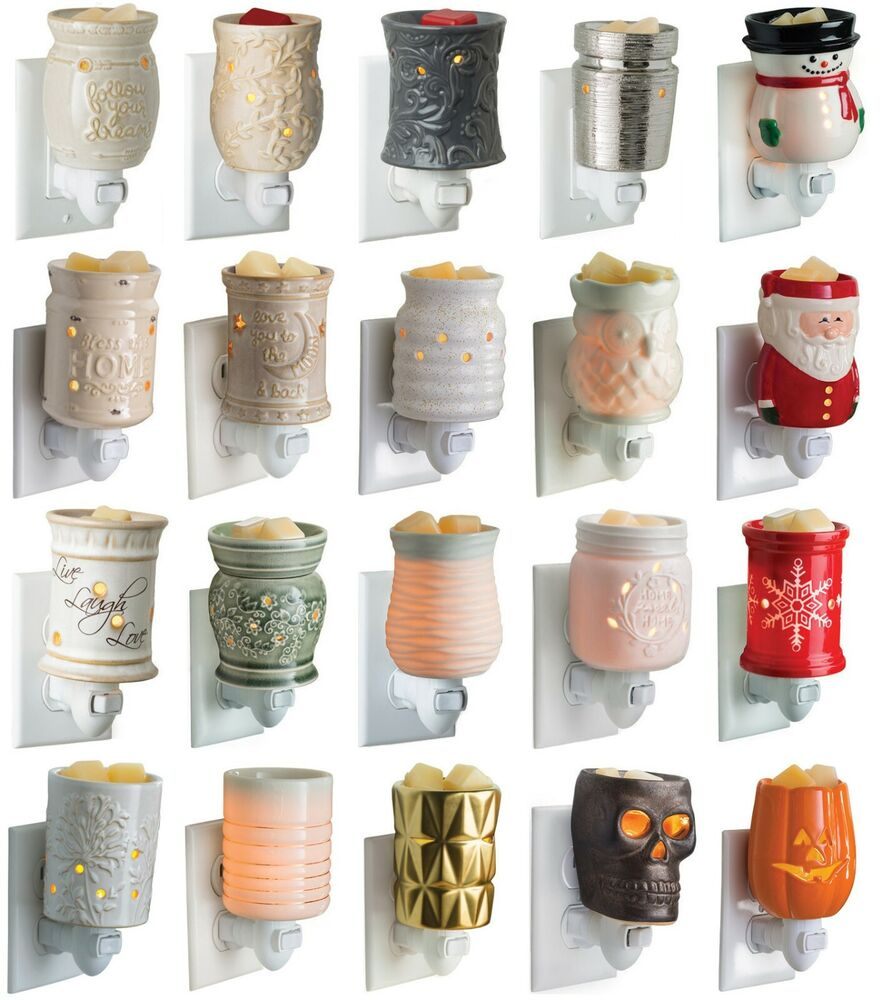 Wax Melt Warmers ~ Pluggable candle warmers use with scentsy yankee woodwick
