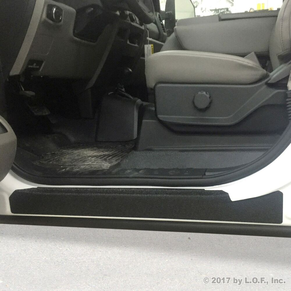 2017-2018 Ford SuperDuty F250 F350 Crew Cab 4pc Door Sill