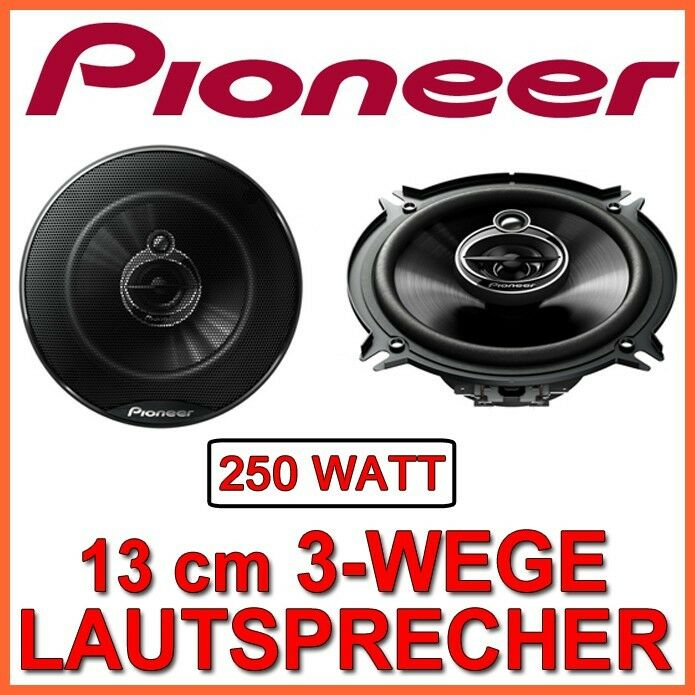 250w pioneer ts g1333i 13cm 3 wege lautsprecher 130mm. Black Bedroom Furniture Sets. Home Design Ideas