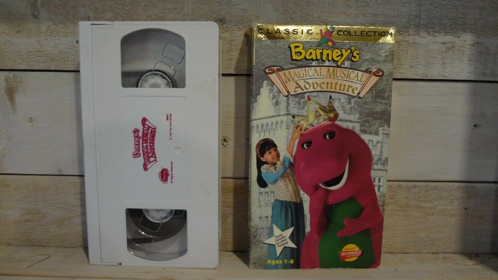 Vintage barney 39 s magical musical adventure vhs tape 1992 for Classic house 1992
