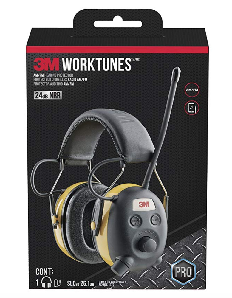 9d6a55ddf14 Details about 3M TEKK WorkTunes Hearing Protector with AM/FM Radio,MP3  Compatible,GST Inc.Wty