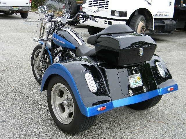 trike conversion kit for all harley davidson sportster. Black Bedroom Furniture Sets. Home Design Ideas