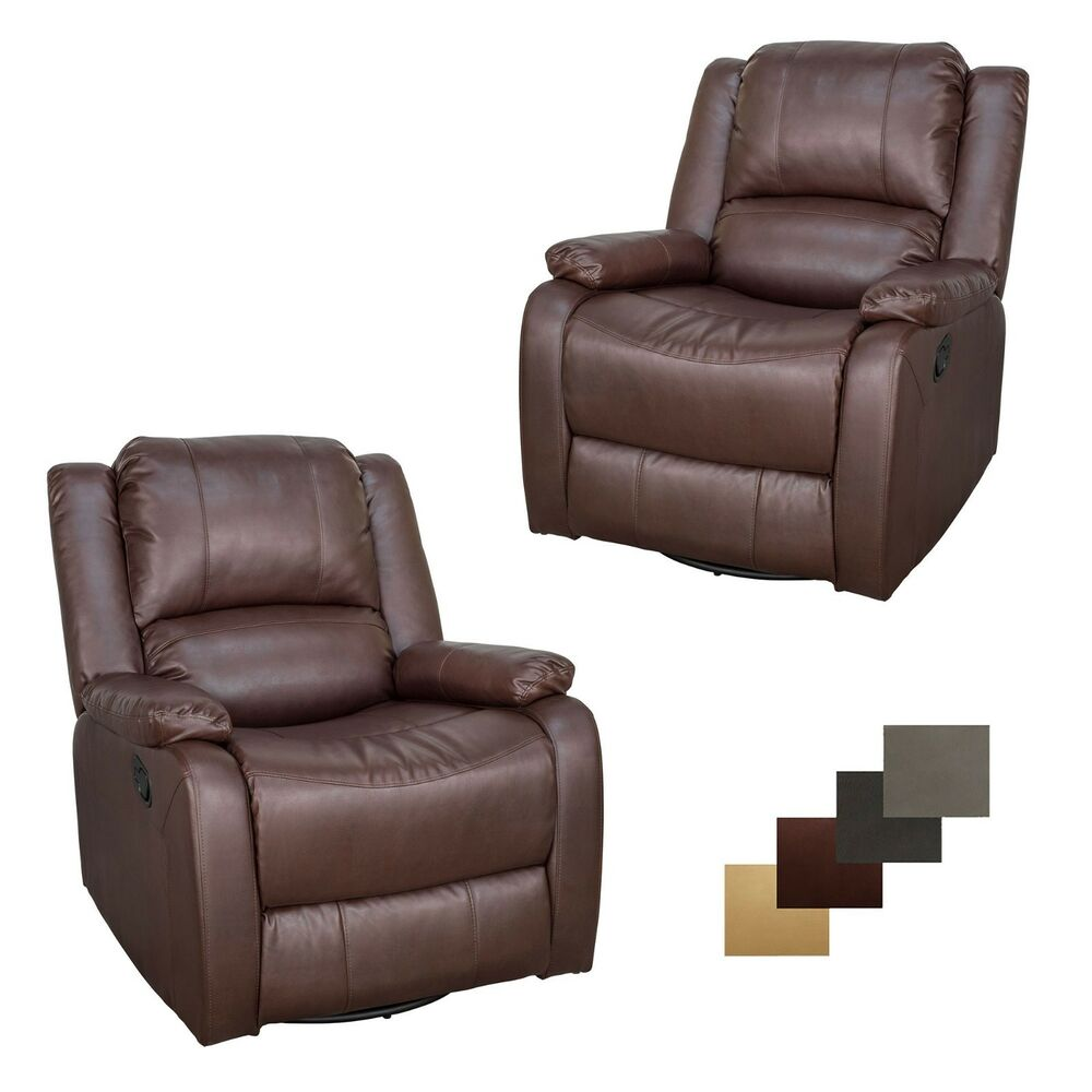 2 Recpro Charles 30 Quot Rv Sgr Swivel Glider Recliner Chair
