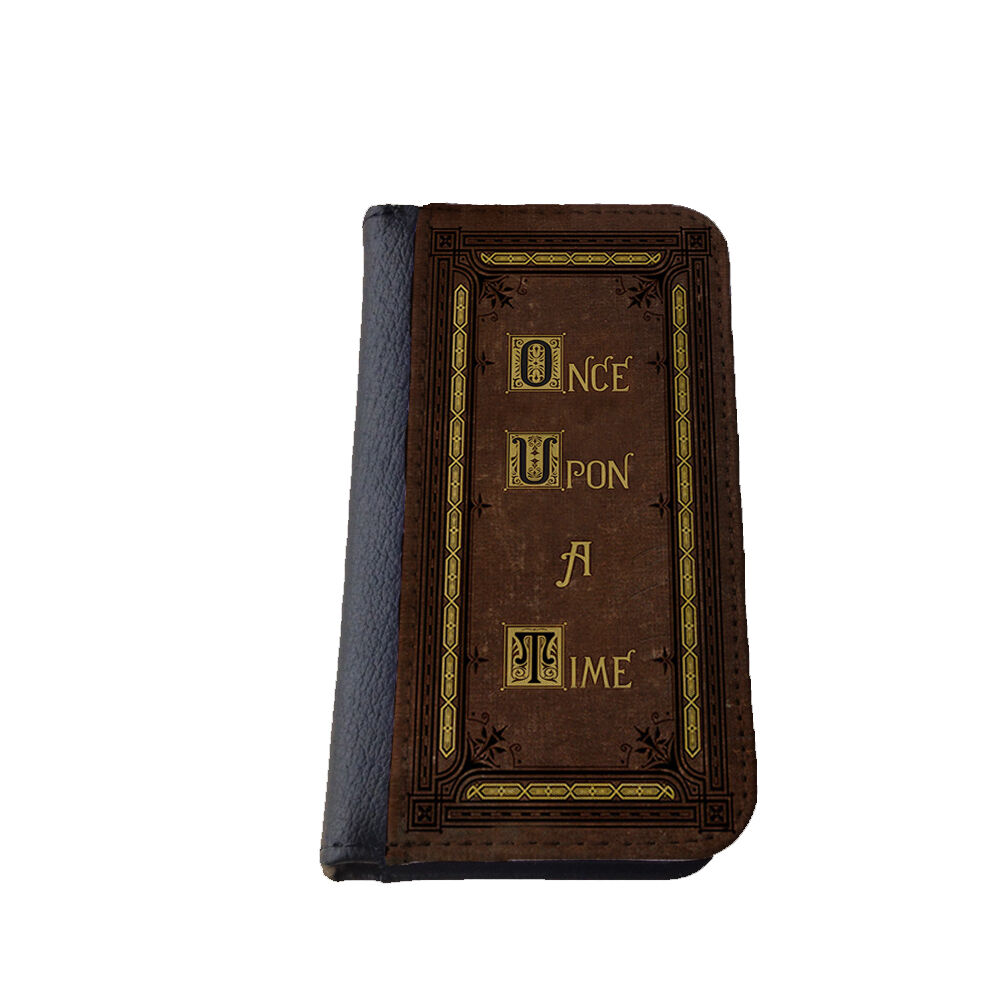 Once Upon A Time Fairytale Book iPhone case wallet case Samsung Galaxy ...