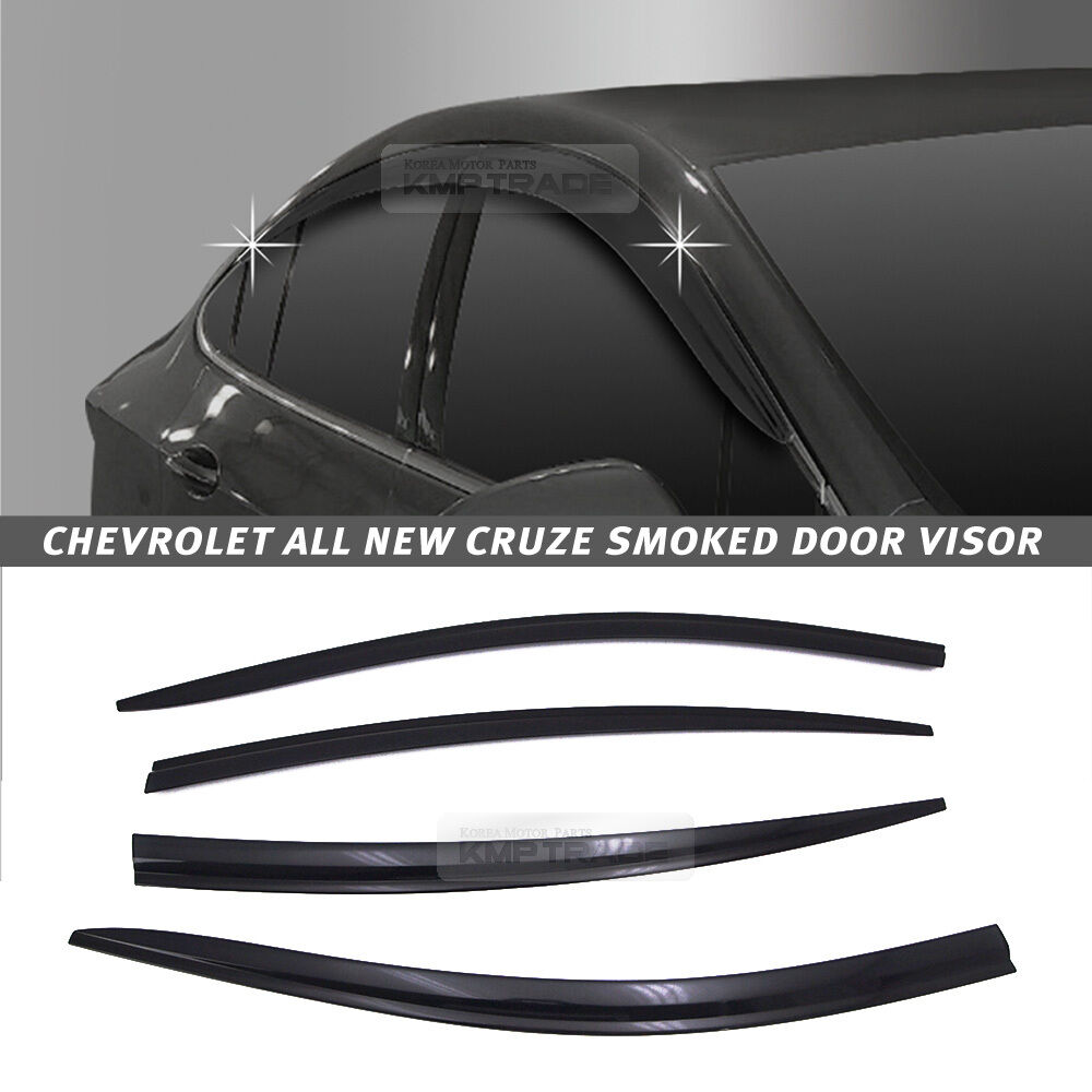 Out Channel Vent Shade Window Visors Rain Guards For