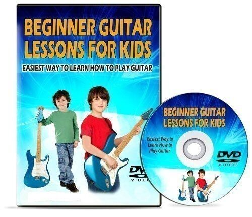 acoustic guitar dvd for teaching children kids learn how to play 4 beginners ebay