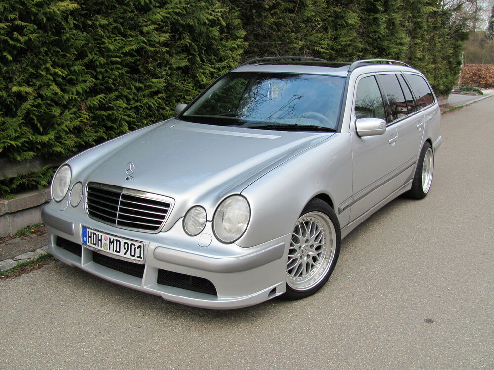 spoiler frontsto stange mercedes e klasse w210 tuning cdw ebay. Black Bedroom Furniture Sets. Home Design Ideas