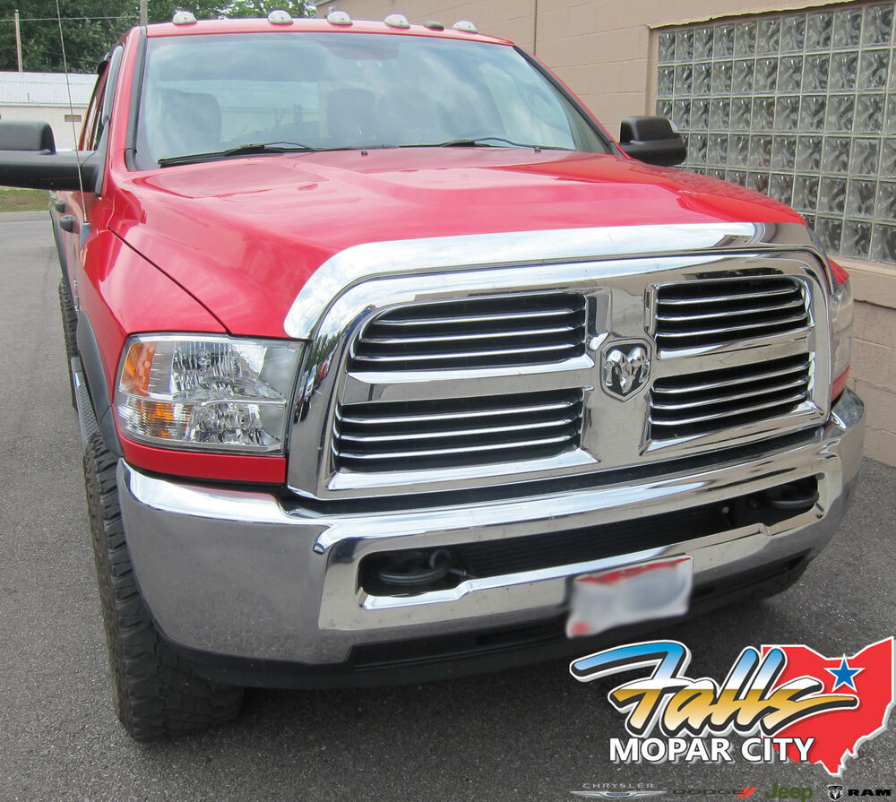Dodge Ram 1500: 2009-2017 Dodge Ram 1500 NEW Chrome Front Air Deflector