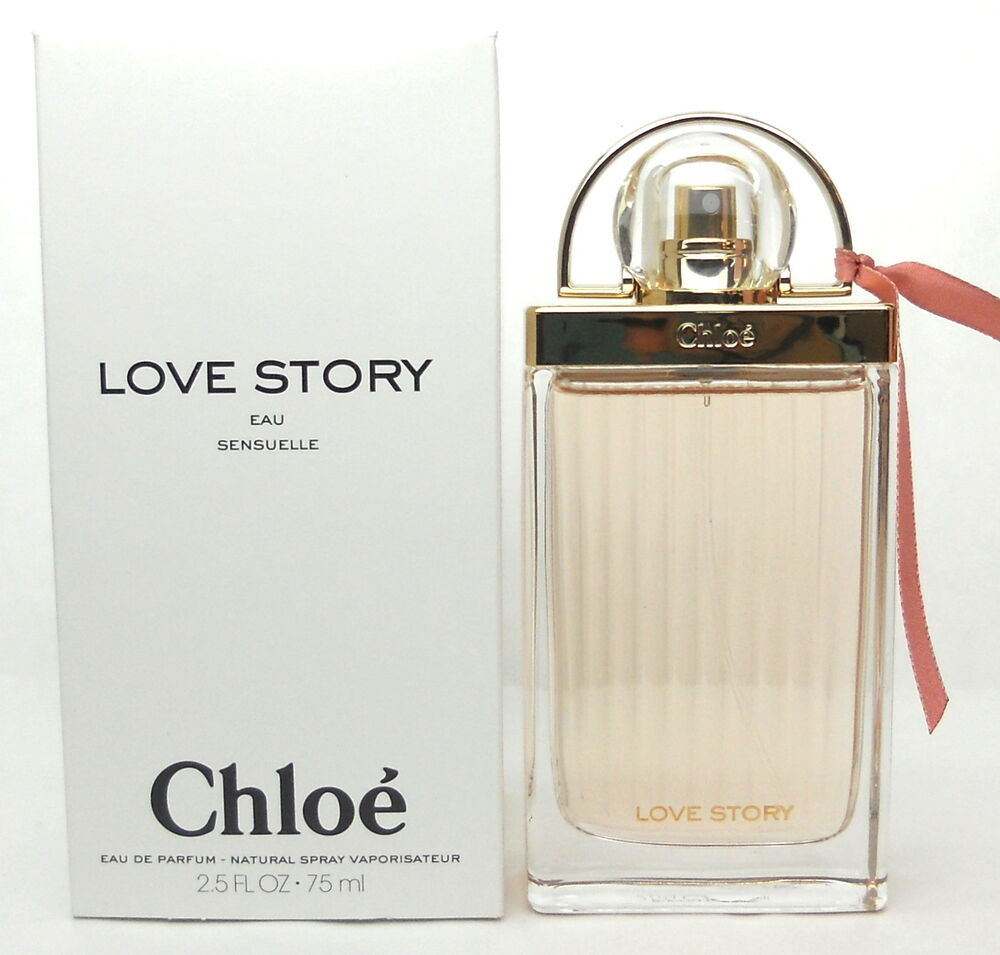 chloe love story eau sensuelle by chloe 2 5 oz edp spray tester new never used ebay. Black Bedroom Furniture Sets. Home Design Ideas