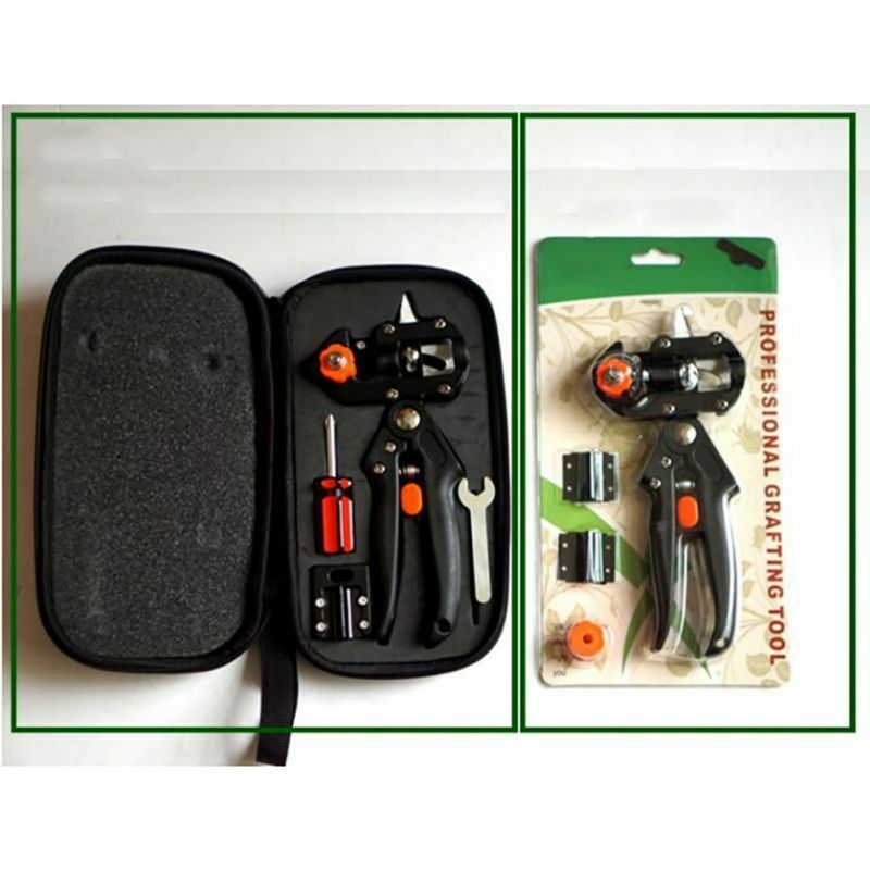 Pro garden grafting tools sets nursery plants cutting for Garden cutting tool set