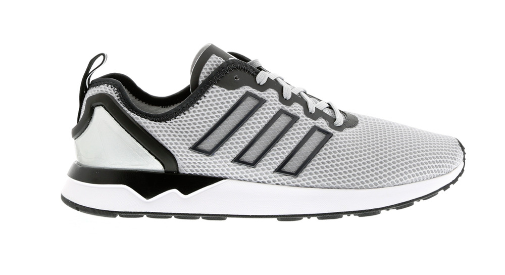 another chance 93f73 be5aa Mens ADIDAS ZX FLUX ADV Grey Textile Running Trainers AQ4509 | eBay