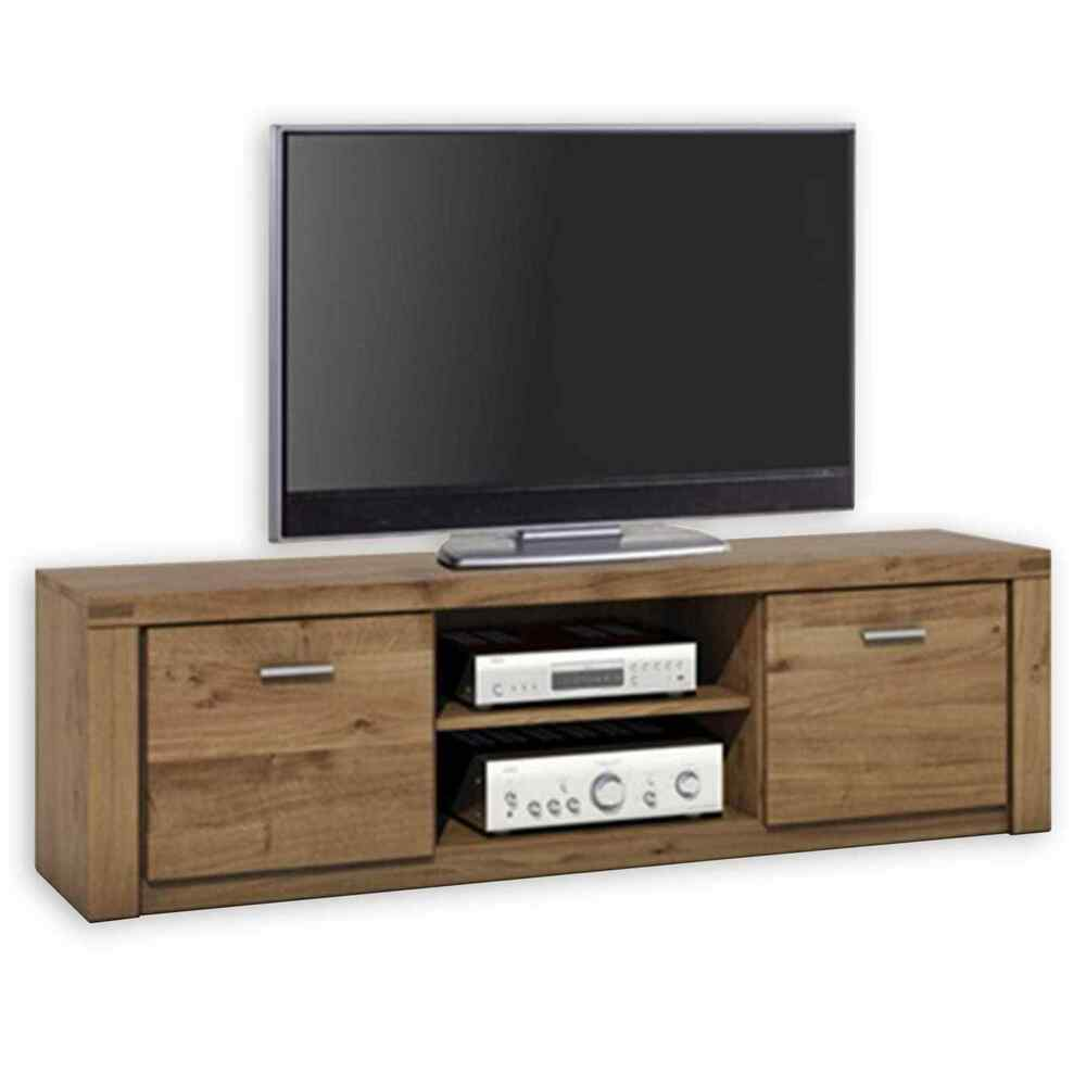 tv lowboard tabea wildeiche teilmassiv 170 cm ebay. Black Bedroom Furniture Sets. Home Design Ideas