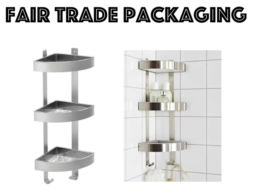 stainless steel shower rack 3 tier unit bathroom corner