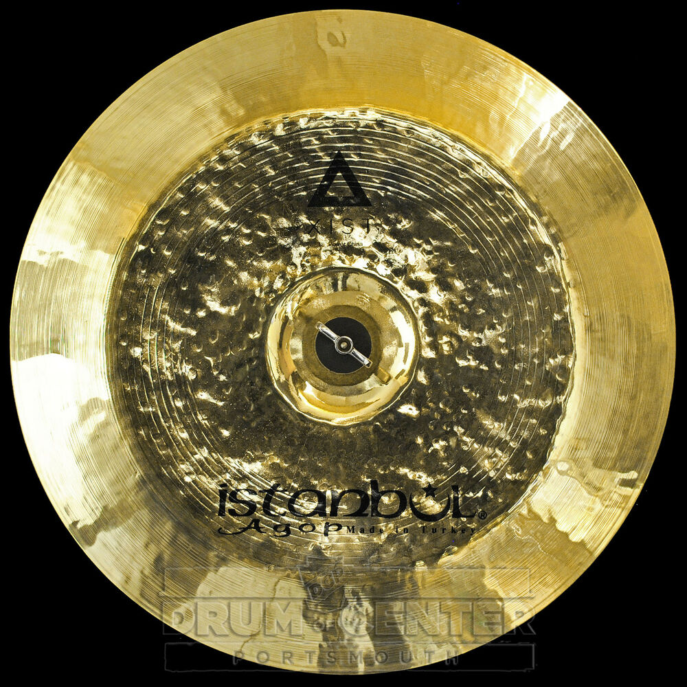 istanbul agop xist power china cymbal 18 video demo ebay. Black Bedroom Furniture Sets. Home Design Ideas