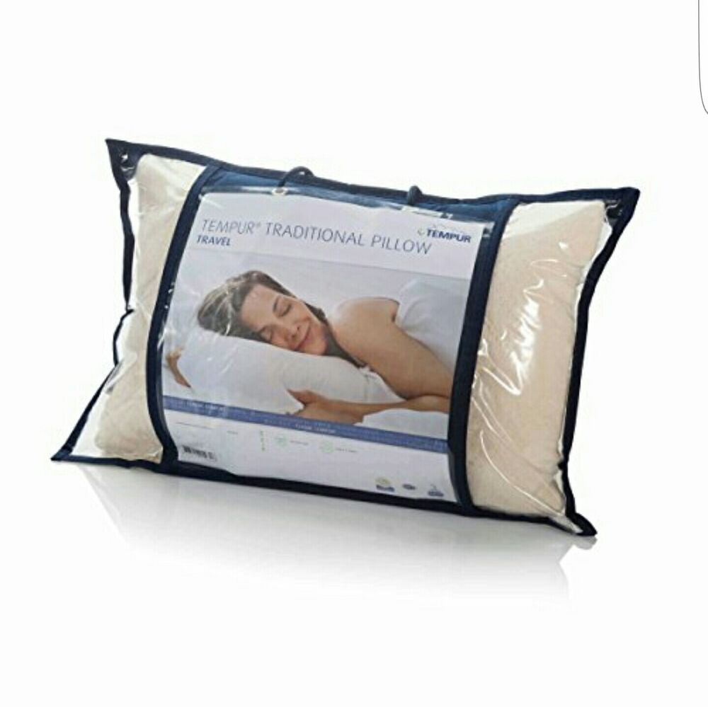 Tempur Traditional Travel Pillow : BRAND NEW - TEMPUR - TRADITIONAL TRAVEL PILLOW eBay