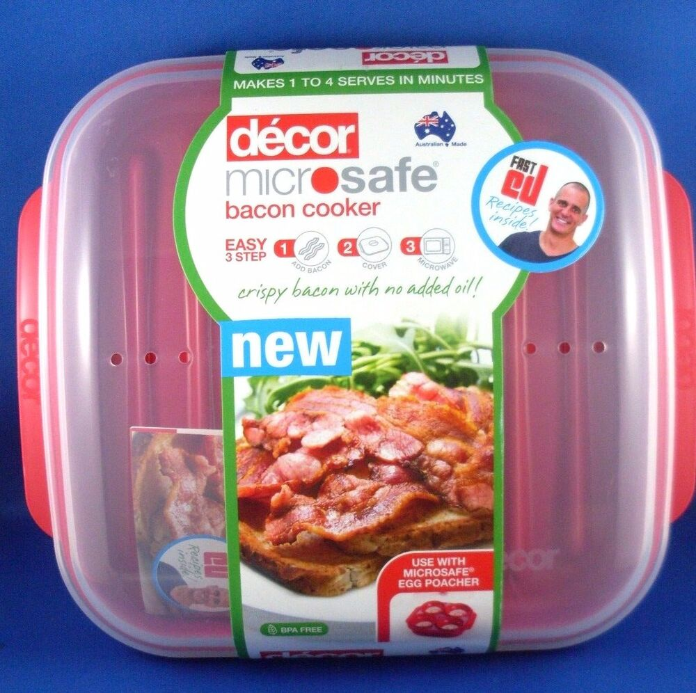 australian made decor microwave bacon cooker kitchen