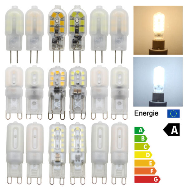 Dimmable G4 G9 3W 5W 7W LED Capsule Light Bulbs Replace Halogen Cool Warm White