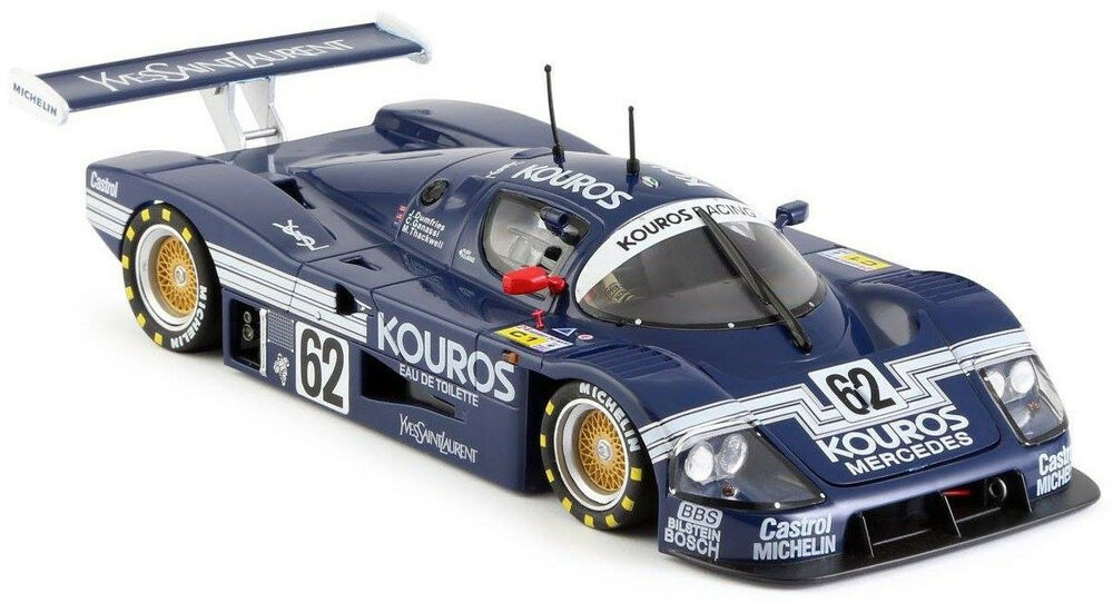 slot it kouros sauber mercedes c9 1987 le mans 1 32 scale slot car ca06h ebay. Black Bedroom Furniture Sets. Home Design Ideas