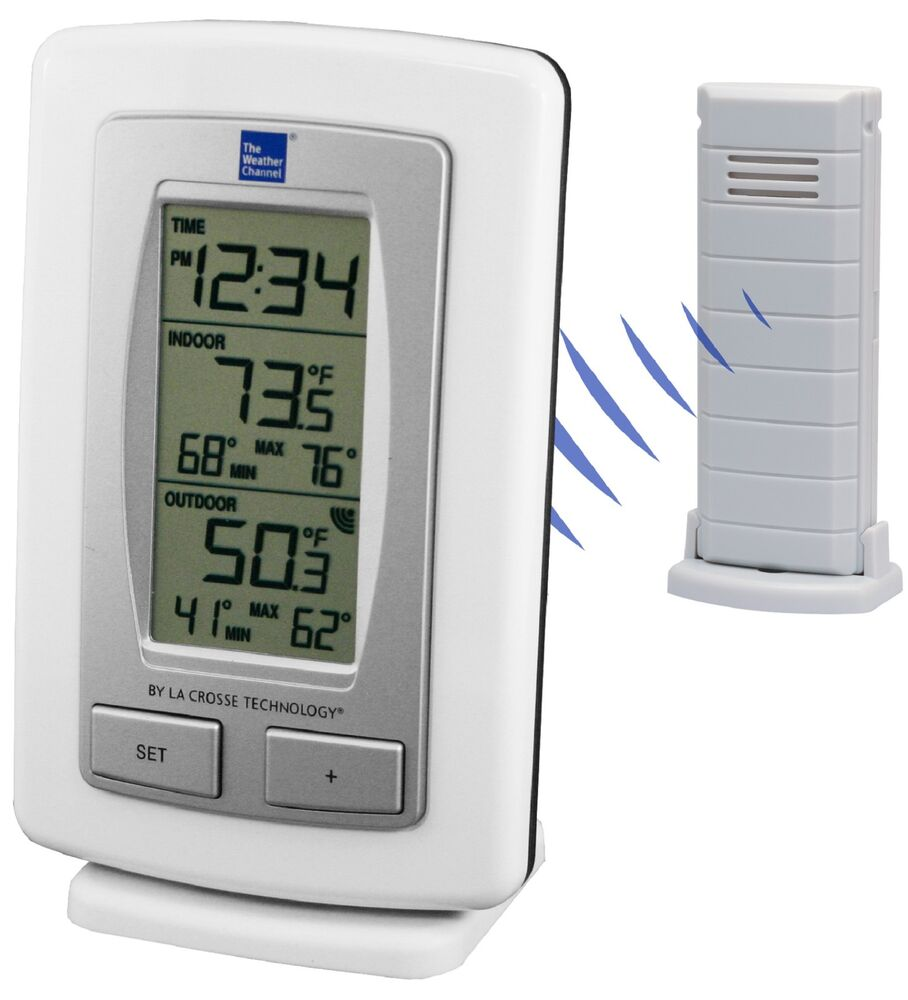 ws 9245twc it la crosse technology twc wireless weather station with tx40u it ebay. Black Bedroom Furniture Sets. Home Design Ideas