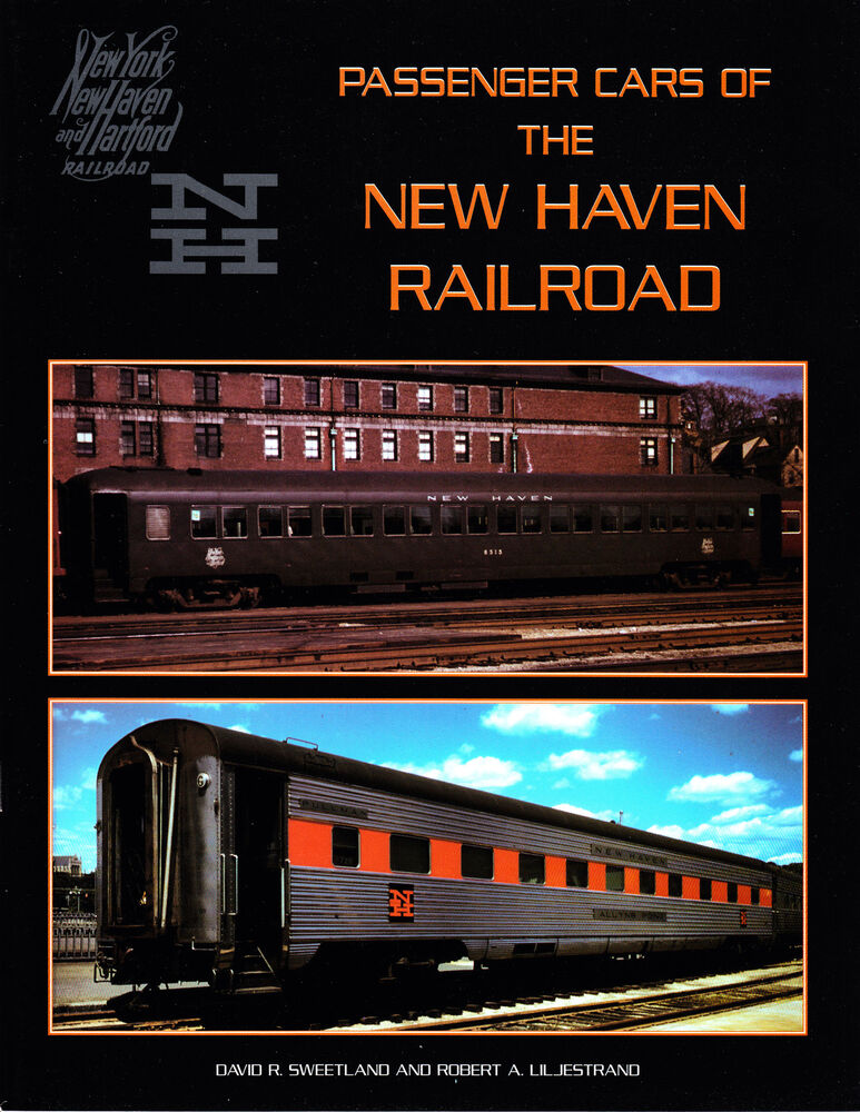 passenger cars of the new haven railroad railroad book ebay. Black Bedroom Furniture Sets. Home Design Ideas