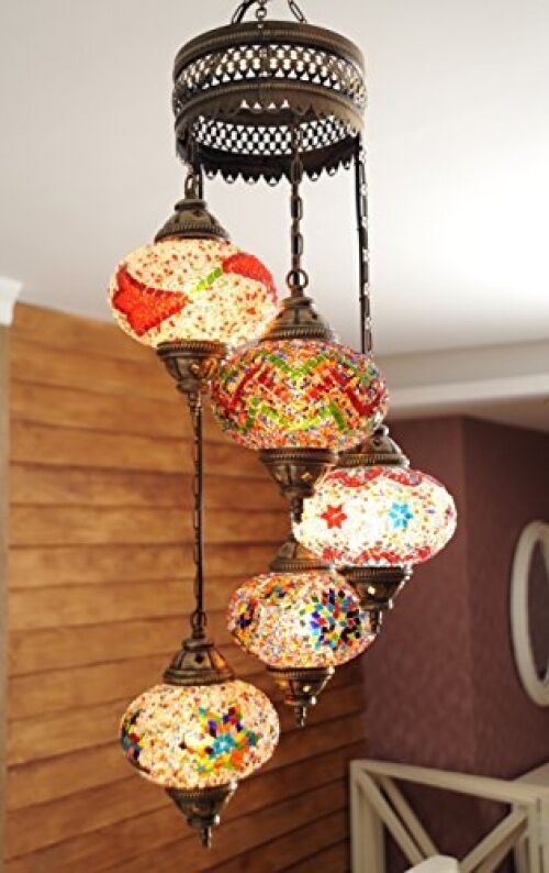 Mosaic lamps turkish moroccan chandeliers pendant home restaurant decor ebay - Improve your home decor with moroccan lamps ...