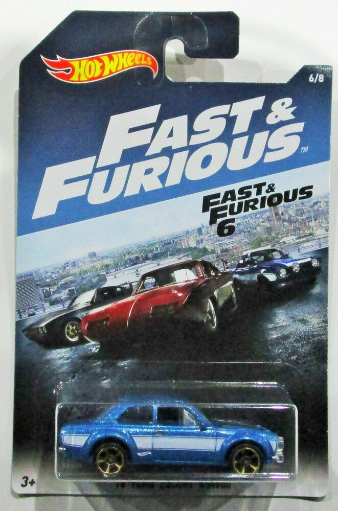 Fast And Furious 8 Cars List >> Hot Wheels 2017 Fast and Furious 1970 / 70 ford escort RS1600 blue 1:64 #6 / 8 | eBay