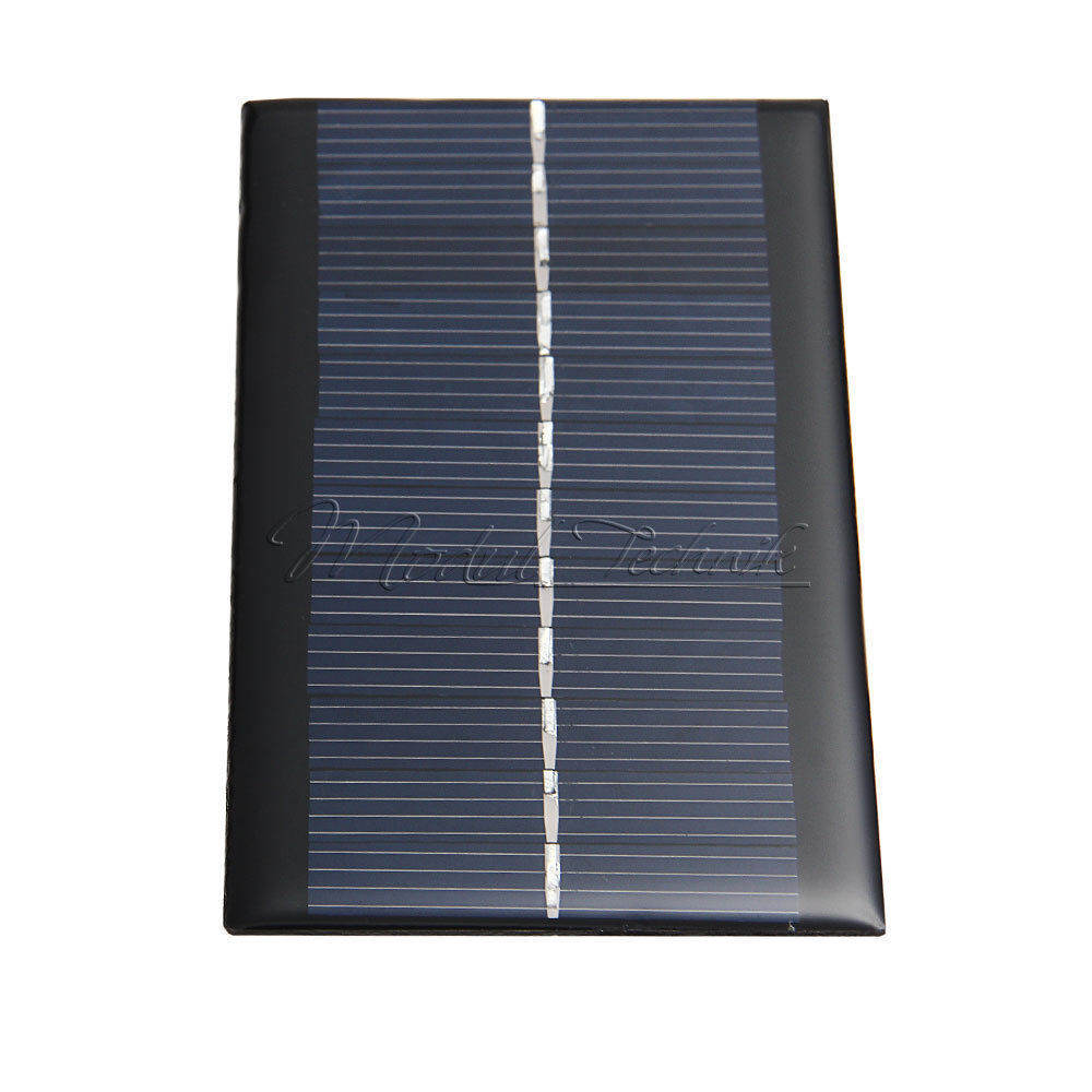 mini sonnenkollektor solaranlage solar power panel diy f r handy charger 6v 1w ebay. Black Bedroom Furniture Sets. Home Design Ideas