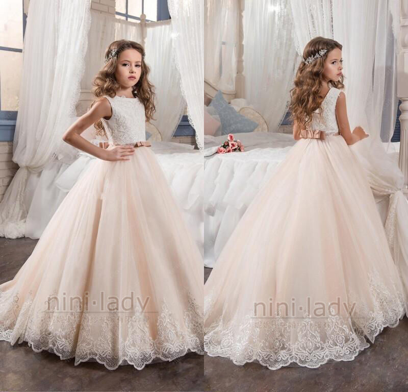 wedding dresses flower girl sequins easter flower dresses princess wedding 9311