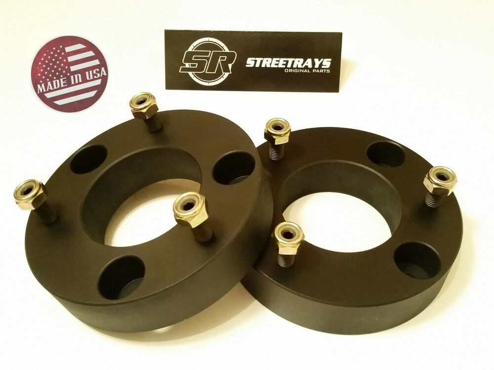 "2wd Ford F150 Lift Kits >> SR Billet 2"" Front Leveling Lift Kit 04-16 Ford F150 4WD 2WD Strut Spacer BLACK 