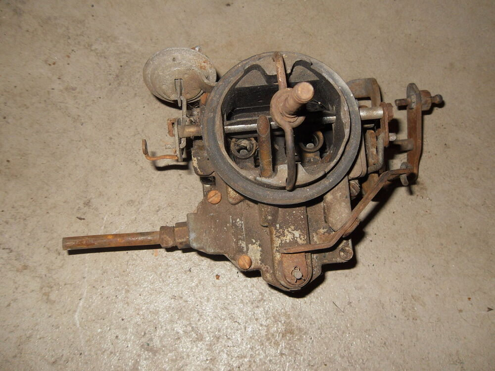 Bendix stromberg single barrel carburettor