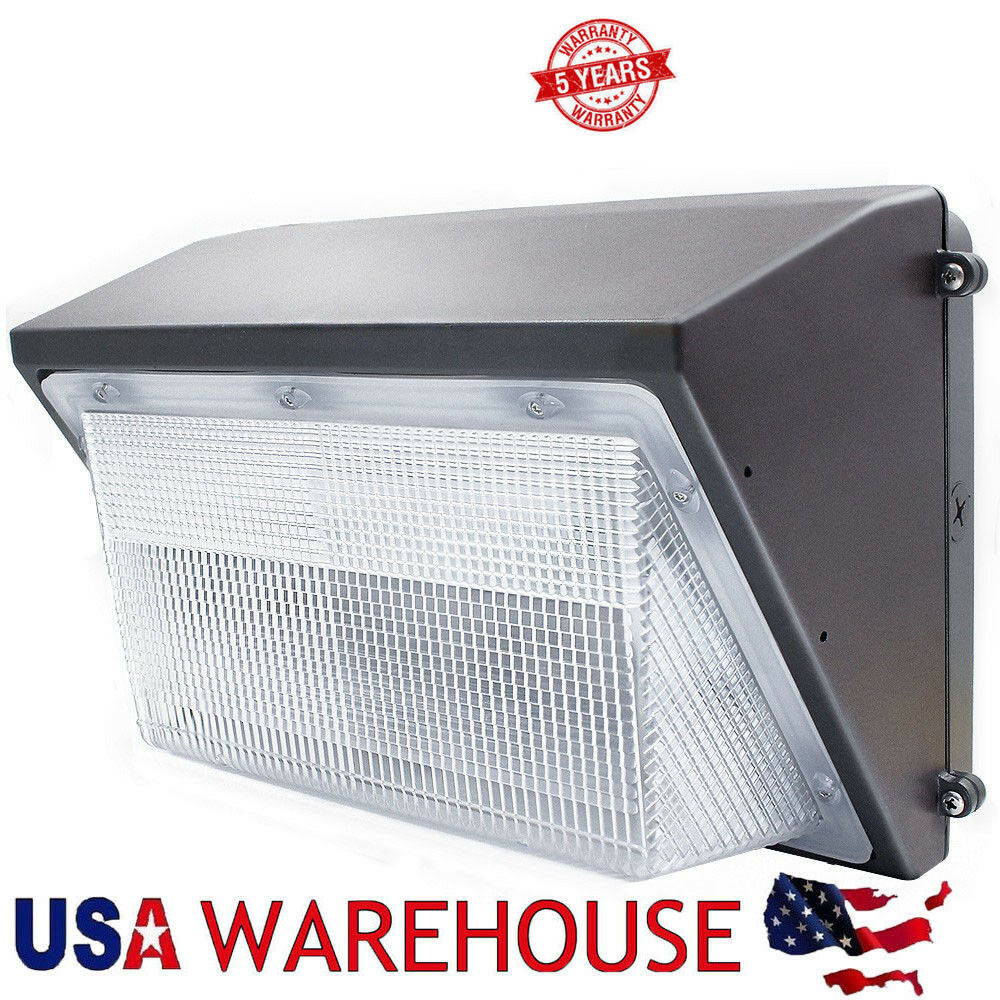 Residential Garage Led Lights: 70w 100w 125w Led Wall Pack Residential Security Light For