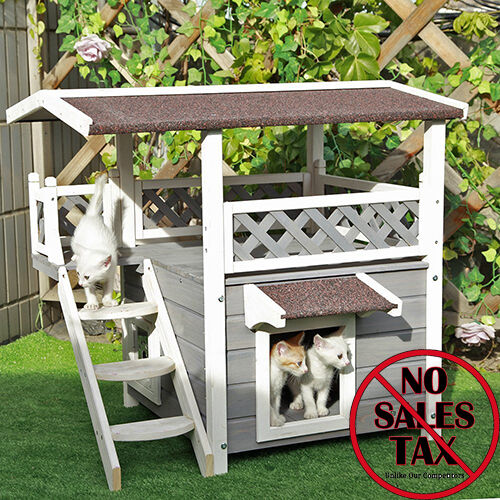 Cat Houses For Outdoor Feral Cats Backyard Shelter Condo