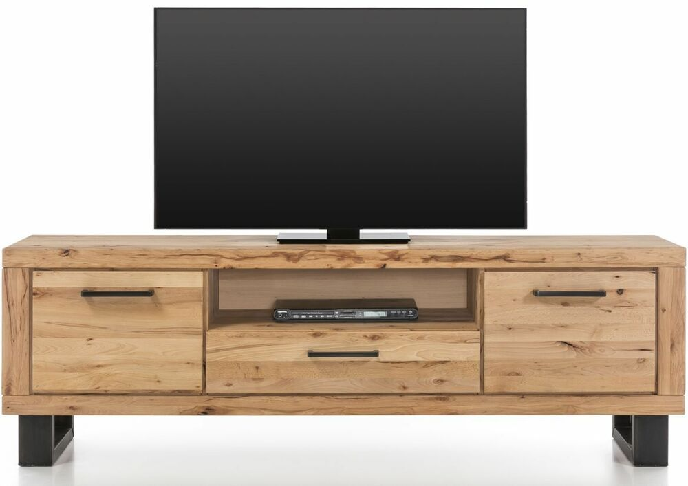 lowboard tv element 199cm buche gerissen wildbuche massiv holz ge lt ovp neu 4251142917626 ebay. Black Bedroom Furniture Sets. Home Design Ideas